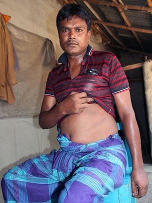 The Bangladesh poor selling organs to pay debts - BBC News