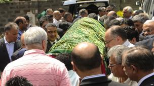 Funeral for Ruhila Adatia-Sood on 26 September 2013
