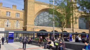 King's Cross Square, London. Photo: Dave Kelly