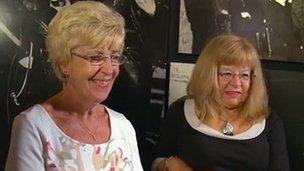 Lyn Phillips and Barbara Bezant