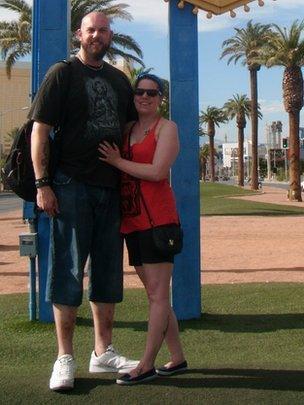 Jonny and Bethany Mathers