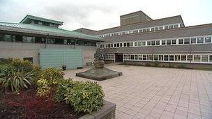 Lympstone commando training centre