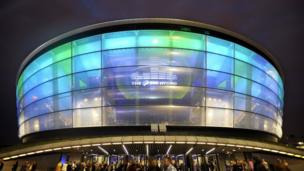 The Hydro arena