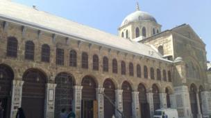 Umayyad Mosque, Damascus old city. Photo: Mahdi