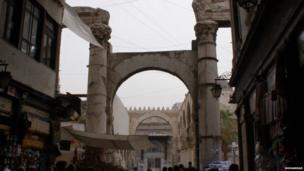 Bab Al-Barid, Damascus Old City. Photo: Mohammad