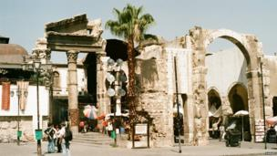 Bab Al-Barid, Damascus Old City. Photo: Narges