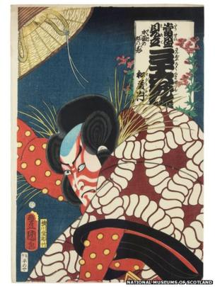 The National Museums Scotland holds about 4,000 Japanese woodblock prints. These were acquired in the 1880s, at the peak of the craze for Japanese art and design in Europe (known as Japonisme). The exhibition runs from Friday 4 October to Sunday 2 February 2014.
