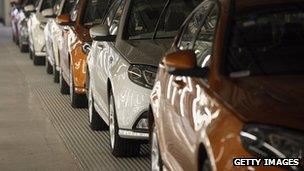 MG6 production line