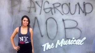 Banksy in New York. Photo: Wendy Escobar