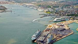 Southampton Port 2012