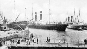 Empress Dock in 1900