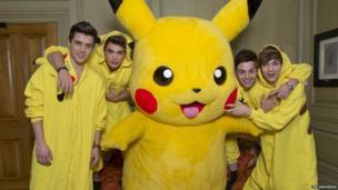 Pikachu with Union J