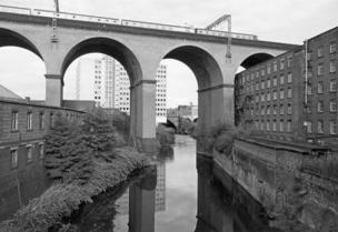 John Davies, Stockport Viaduct