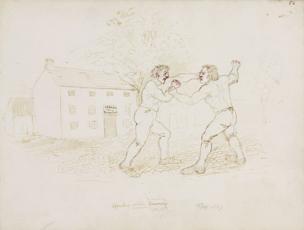 Fighting, Northumberland. c.1805-1820