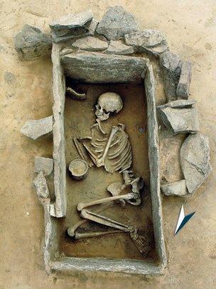 Bell Beaker burial