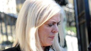 Kathy Ward was given a suspended sentence