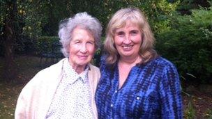Patricia and Lucy Kilroy