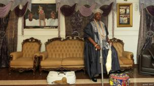 Oba Alayeluwa Saheed Ademola Elegushi, Kusenla lll, The Elegushi of Ikateland
