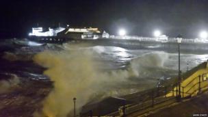 Storm over Cromer Pier. Photo: Gavin Stacey