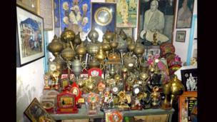 Wrestling trophy room