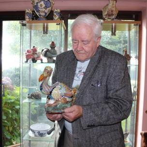 Ralfe Whistler with Dodo