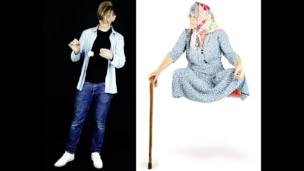 Stuart Semple and Levitating Granny