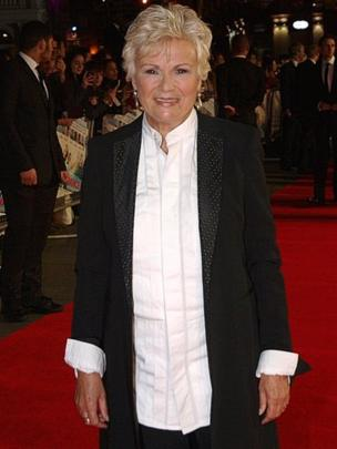 Julie Walters arrives at the premiere