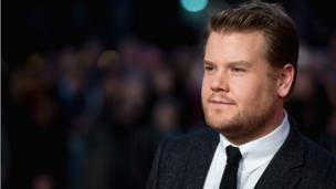James Corden at the premiere