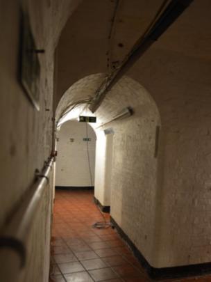Basement tunnels at No Man's Land Fort