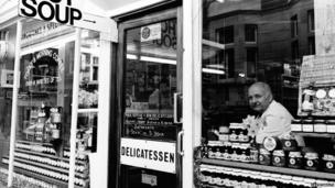 A delicatessen in Marylebone