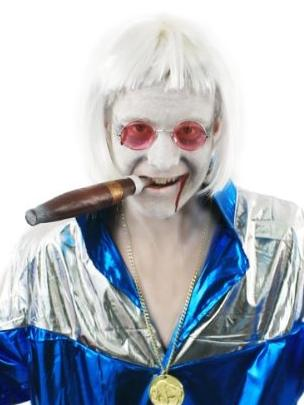 Zombie Jimmy Savile fancy dress costume