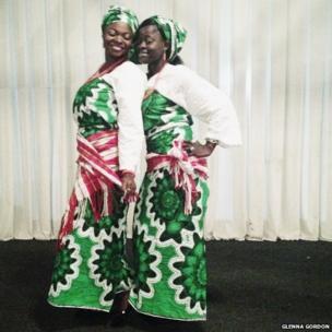 Nigerian wedding guest