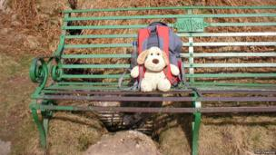 Child's toy on a seat