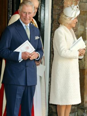 Prince of Wales and Duchess of Cornwall