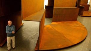 Sir Anthony's sculpture Millbank Steps 2004 has been displayed at Tate Britain