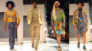 Male models in Lagos, Nigeria - Wednesday 23 October 2013
