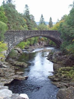 Old Invermoriston Bridge