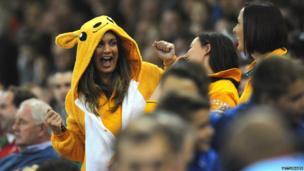 Rugby League World Cup - Australian fans