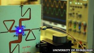 Li-fi' via LED light bulb data speed breakthrough - BBC News