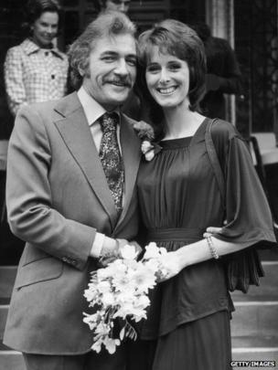 Nigel Davenport and Maria Aitken