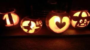 Pumpkins by Dave Thomas' family