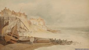 Brighthelmston, circa 1796, by JMW Turner