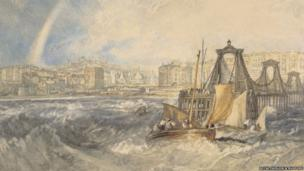 Brighthelmston, Sussex, circa 1824, by JMW Turner