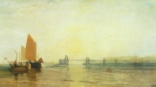 The Chain Pier by JMW Turner