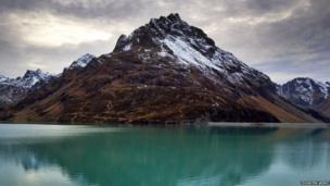 Silvretta Dam in Austria. Photo: Thorsten Wiehe