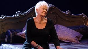 Dame Judi Dench as Desiree Armfeldt, in A Little Night Music.