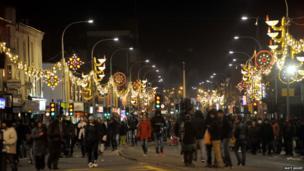 Belgrave Road lights