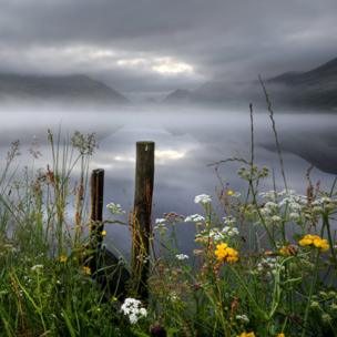 Llyn Nantlle, in Snowdonia
