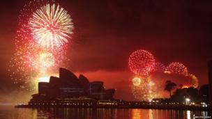 Fireworks over Sydney Opera House. Photo: Liani Stockdale