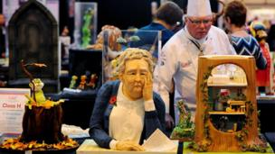 Cakes at the NEC Cake International show